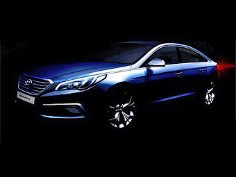 Hyundai поделилась первым изображением новой «Сонаты»