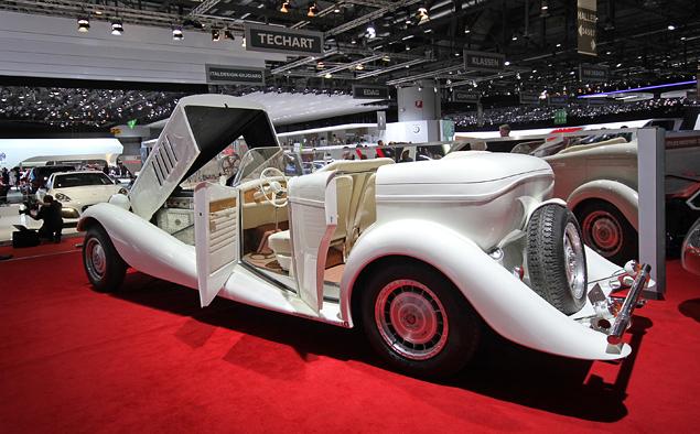 Самые необычные машины Женевского автошоу. Фото 3