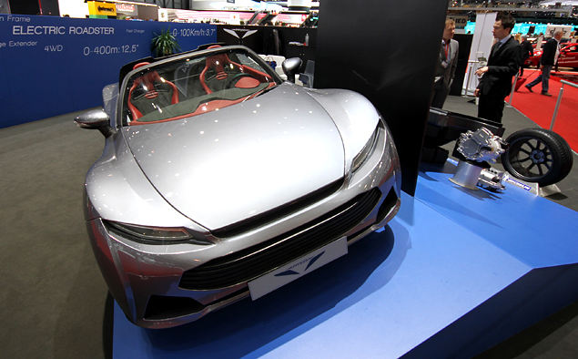 Самые необычные машины Женевского автошоу. Фото 22