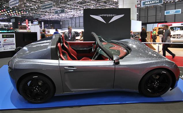 Самые необычные машины Женевского автошоу. Фото 23