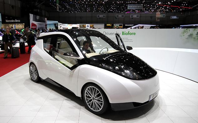 Самые необычные машины Женевского автошоу. Фото 30