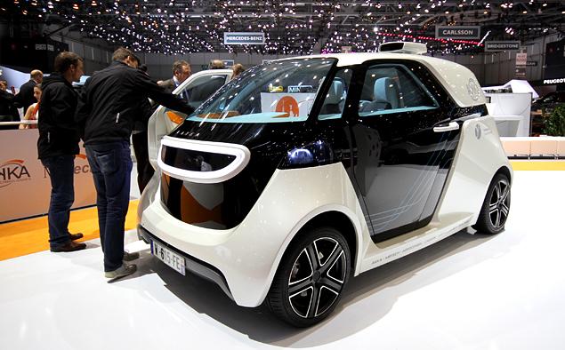 Самые необычные машины Женевского автошоу. Фото 35