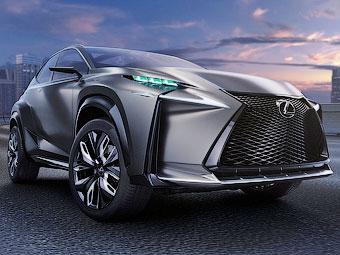 Серийный компактный кроссовер Lexus дебютирует в Пекине