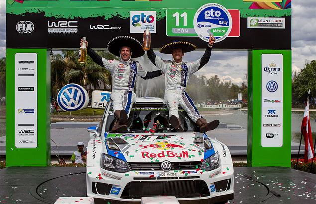 Себастьен Ожье вышел в лидеры WRC. Фото 2