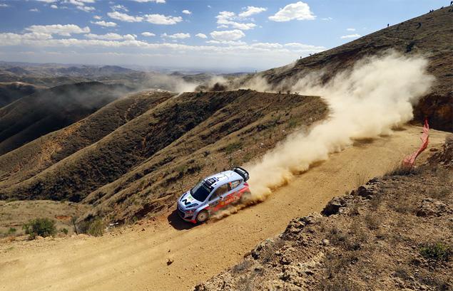 Себастьен Ожье вышел в лидеры WRC. Фото 6