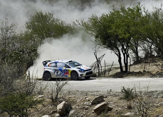Себастьен Ожье вышел в лидеры WRC. Фото 8