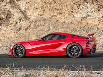 Появились подробности о совместном спорткаре Toyota и BMW