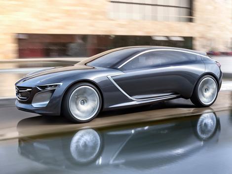 Новую «Астру» сделают похожей на концепт-кар Monza