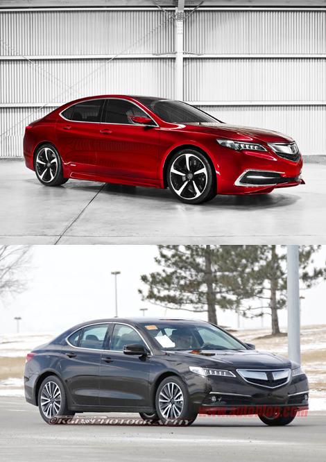 Серийная версия Acura TLX дебютирует в апреле