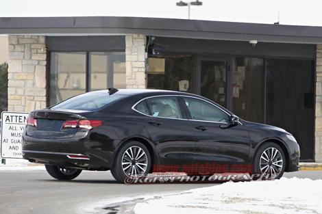 Серийная версия Acura TLX дебютирует в апреле. Фото 1