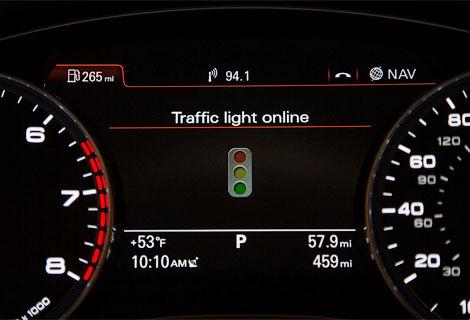 В Audi подготовили систему распознавания сигналов светофоров для серийных машин