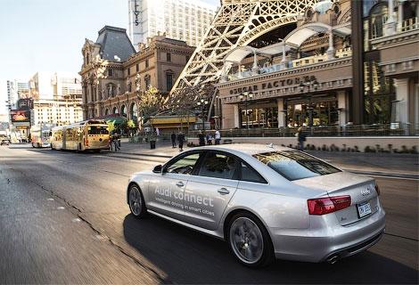 В Audi подготовили систему распознавания сигналов светофоров для серийных машин. Фото 1
