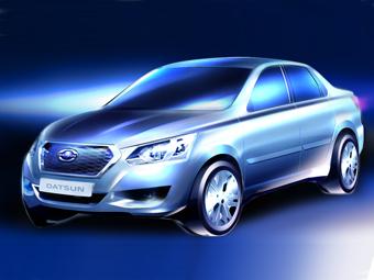 Datsun назвал дату дебюта первой модели для России