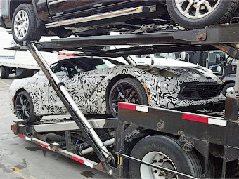 В Сети появились снимки загадочного Chevrolet Corvette