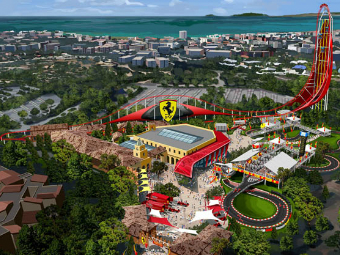 Ferrari откроет второй парк аттракционов