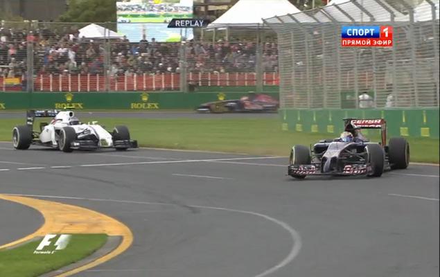 Онлайн-трансляция первого этапа Формулы-1 2014 года. Фото 1