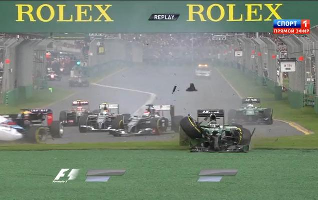 Онлайн-трансляция первого этапа Формулы-1 2014 года. Фото 3