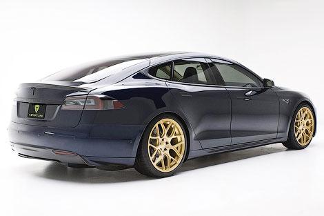 Ателье T Sportline подготовило пакет доработок для Tesla Model S
