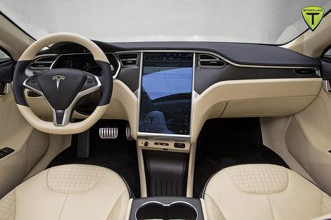 Ателье T Sportline подготовило пакет доработок для Tesla Model S. Фото 1