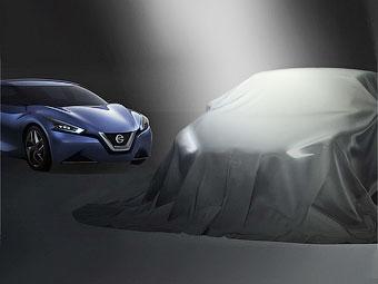Nissan показал тизер нового концепт-седана