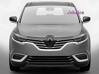 В Сети рассекретили дизайн нового Renault Espace