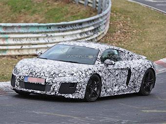 Компания Audi вывела преемника суперкара R8 на Нюрбургринг
