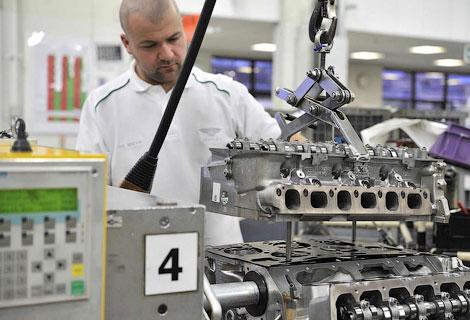 Британцы намерены собирать 9 тысяч двигателей в год