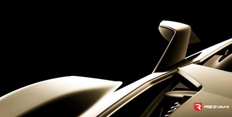 Компания Rezvani опубликовала тизер новой модели