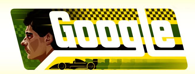 Новый дудл сделали в честь дня рождения трехкратного чемпиона Формулы-1