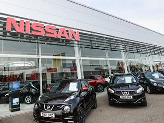 Nissan опробует на Москве новый тип автосалона