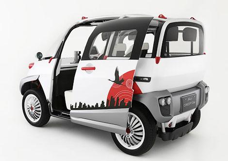Компания Fomm разработала не боящийся стихийных бедствий автомобиль