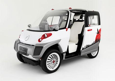 Компания Fomm разработала не боящийся стихийных бедствий автомобиль. Фото 1