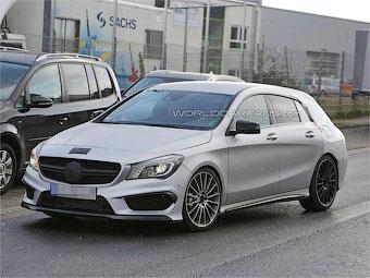 Mercedes-Benz вывел на тесты маленький AMG-универсал