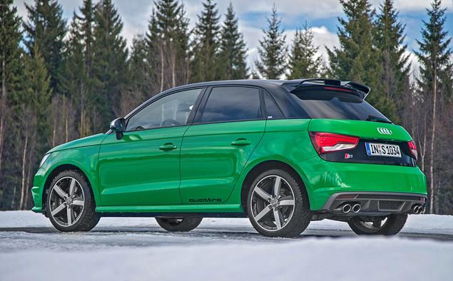 Выясняем, на что способен самый маленький хот-хэтч от Audi. Фото 9