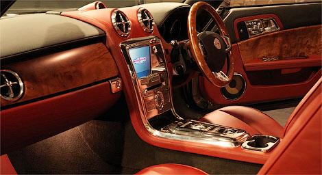 Купе Speedback GT получило алюминиевый кузов и пятилитровый мотор. Фото 3