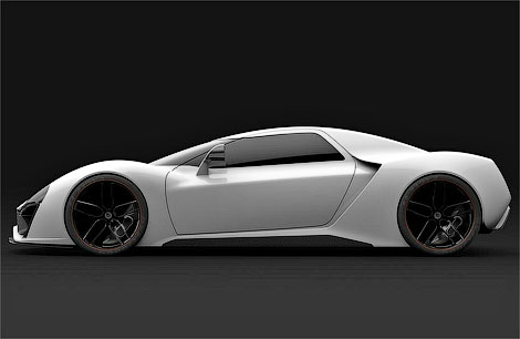Фирма Trion SuperCars построит к апрелю прототип первой модели. Фото 2