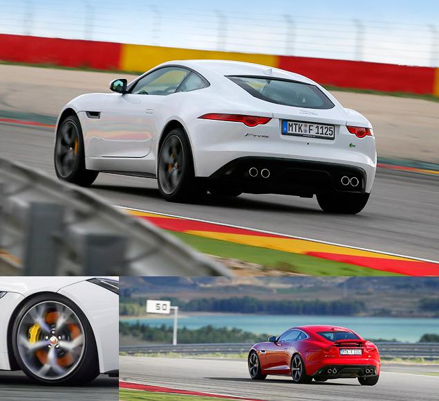 Тест-драйв Jaguar F-Type Coupe - автомобиля, который через полвека станет классикой. Фото 6