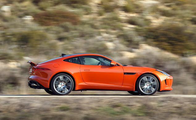 Тест-драйв Jaguar F-Type Coupe - автомобиля, который через полвека станет классикой. Фото 7