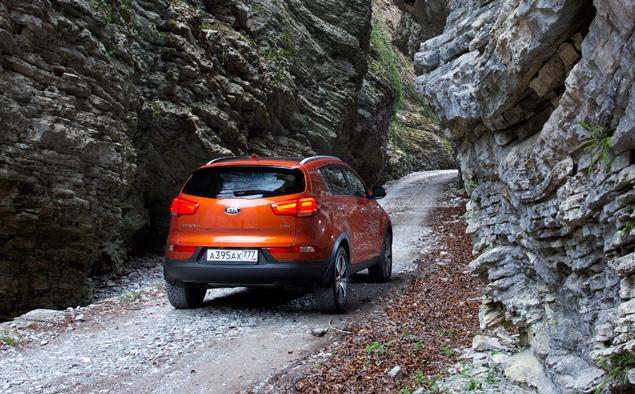 Наблюдаем за тем, как обновленный Kia Sportage тянется к идеалу. Фото 6