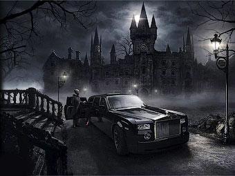 """Тюнеры построят """"готический"""" Rolls-Royce Phantom"""
