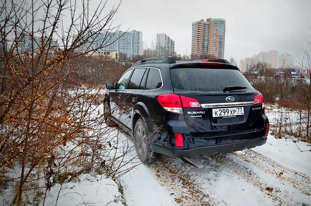 Длительный тест Subaru Outback: часть вторая