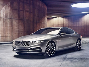 "BMW представит прототип ""девятой серии"""