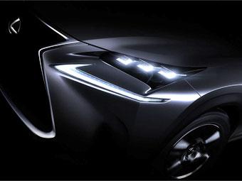 Компактный кроссовер Lexus получит светодиодные фары