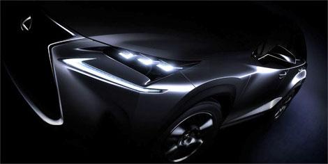 Lexus опубликовал первую фотографию серийного вседорожника NX