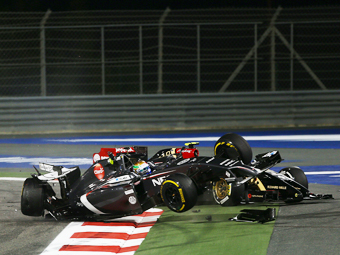 Мальдонадо потеряет пять мест на старте Гран-при Китая