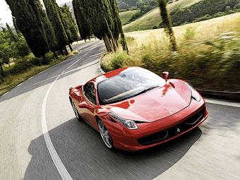 Второй моделью Ferrari с турбомотором будет преемник 458 Italia