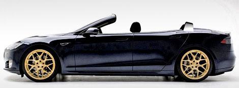 Выпуск открытой версии электрокара Model S начнется в июле