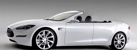 Выпуск открытой версии электрокара Model S начнется в июле. Фото 1