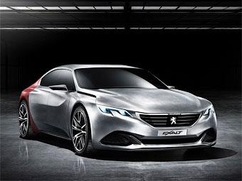 Peugeot привезет в Пекин «четырехдверное купе»