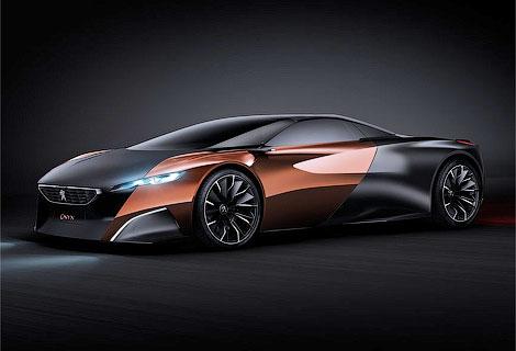 Компания Peugeot поделилась изображением нового прототипа